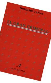 Portada Libro El gran criminal