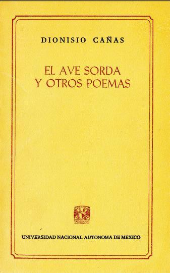1980 El ave sorda y otros poemas