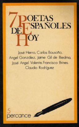 1983 7 poetas españoles de hoy