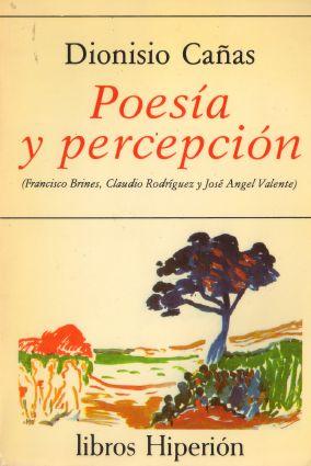 1984 Poesía y percepción