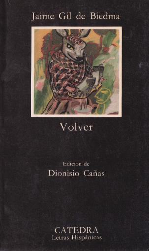1990 Volver - Jaime Gil de Biedma